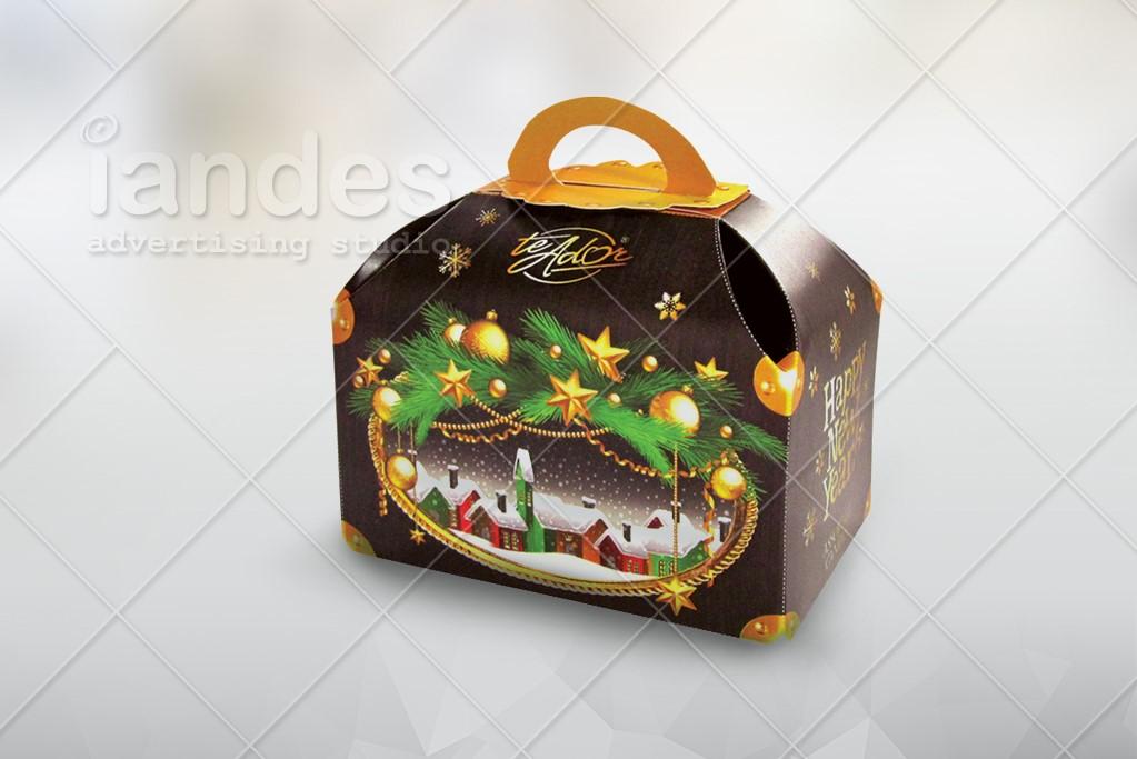 Новогодняя упаковка - Te Ador