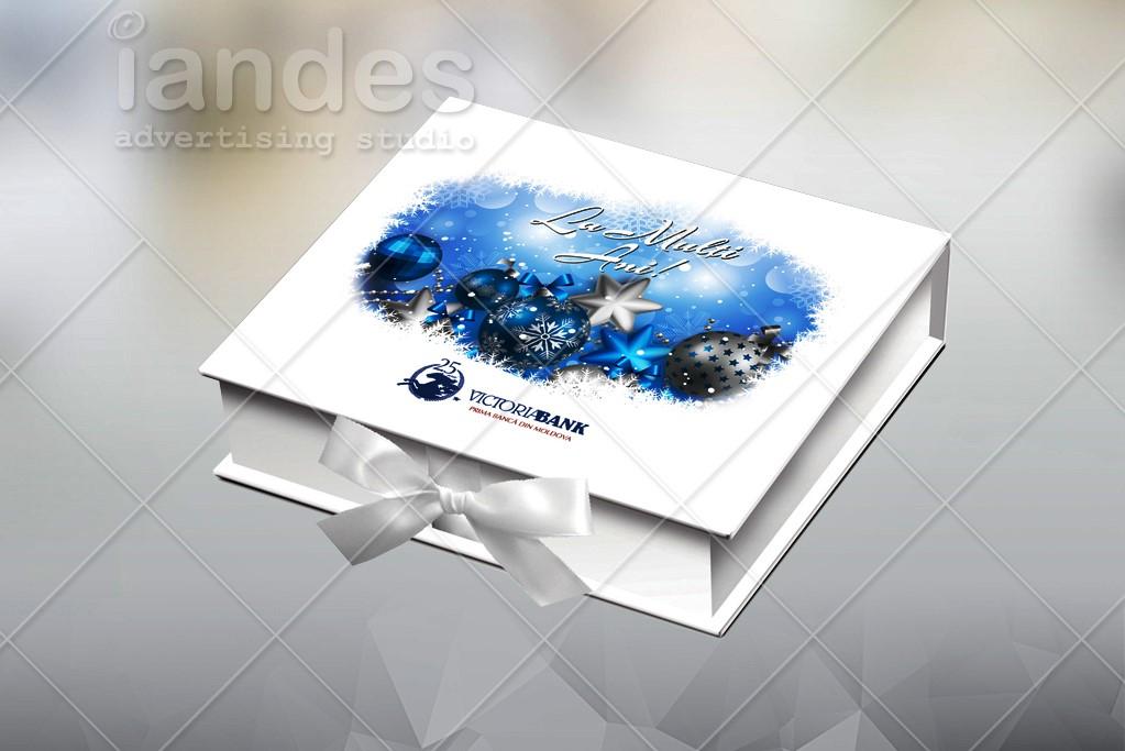 Новогодняя упаковка - Victoriabank