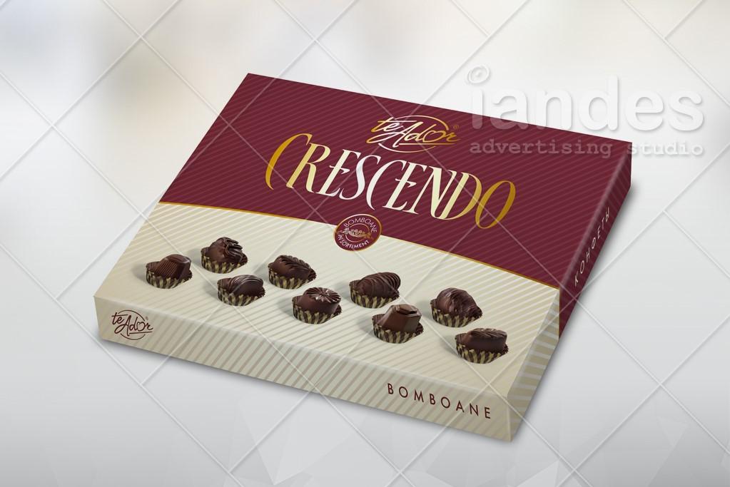 Шоколадная упаковка Te ador
