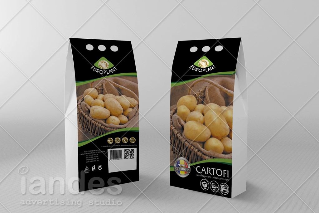 Упаковка для картофеля Europlant